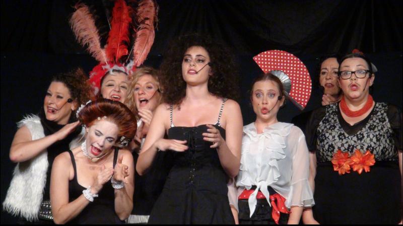 SESSIÓ GOLFA BANDADA Clown a Cappella presenta ON ESTÀ MERCÈ? @ Circ Cric (Carpa Cantina)