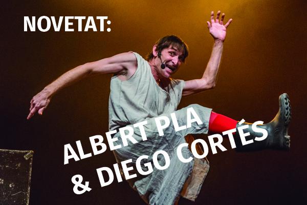 ALBERT PLA i DIEGO CORTÉS en concert @ Circ Cric | Espanya