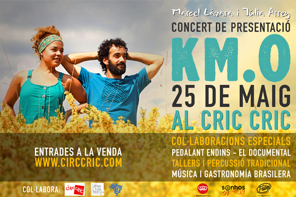 MARCEL LÁZARA i JÚLIA ARREY @ CIRC CRIC